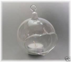 Windlicht Klarglas - Bild vergrößern