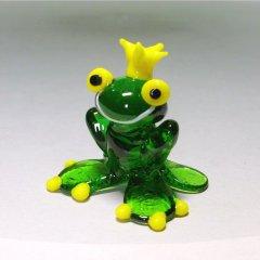 Froschkönig aus Glas